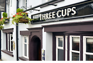 Exterior of Three Cups